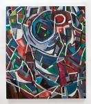 "Counterpane 2 (2012). 60"" x 52"". Oil on canvas."