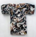 "Ossa (2010). 40"" x 42"" x 8"". Oil on muslin."