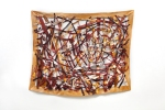 "Quadrangle 2 (2011). 60"" x 75"". Oil on canvas."