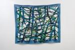 "Quadrangle 3 (2011). 63"" x 74"". Oil on canvas."