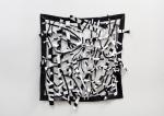 "Quadrangle 4 (2011). 48"" x 48"". Acrylic on canvas."