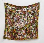 "Quadrangle 6 (2011). 60"" x 57"". Oil on canvas."
