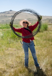 Carol Benson. Photo by Jim Davis (2012).