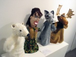 Sarah Palin and Friends (2008). Papier mâché and fabric.