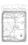 Map of Sheridan County, Montana, from Carol Benson (2006), 'The Old Lonesome', Farcountry Press, Helena, Montana.