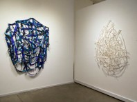 'Pieced Constructions' installation view, Blackfish Gallery, October 2014.