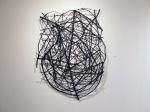 """Styx Redux (2014). 64"""" x 46"""" x 10"""". Wood, wire, acrylic paint."""